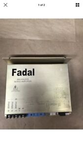 Fadal 4020 Brushless Servo Amplifier Model Sma9610 1 P n Amp 0065