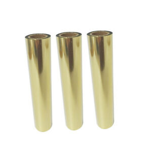 3 Rolls Gold Hot Foil Printer Universal Gold Foil Rib Ly400a ly400b ly400c