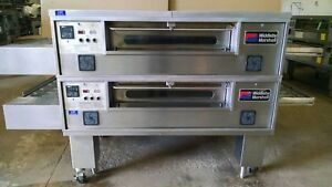 Pizza Oven Middleby Marshall Ps570 Double Deck Conveyor