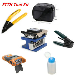 Visible Fiber Optic Fault Locator Power Meter Tester Cleaver Plier High Quality