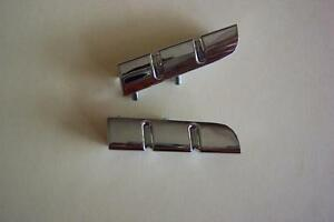 1955 Ford New Steering Wheel Chrome Tabs 55 Fairlane Sunliner Crown Victoria