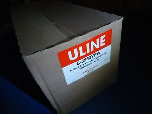 Shipping Tags Pre wired 13 Pt 5 3 4x2 7 8 Fluorescent Yellow 1000 Pcs S 5982ypw