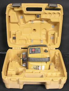 Topcon Rl h4c Self leveling Rotary Laser Case Only