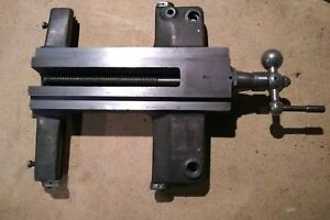 Atlas Craftsman Th42 Lathe Saddle Casting Mpn 10f 9 And Attached With Hardware