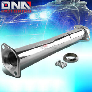 For 07 13 Mazdaspeed3 Mps Stainless Hi Flow Downpipe Cat Pipe Exhaust System