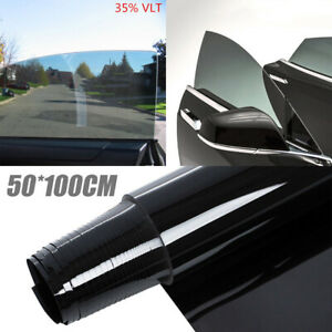 Black 35 Car Auto Window Tint Film Roll House Glass Cover Tinting 50cmx1m
