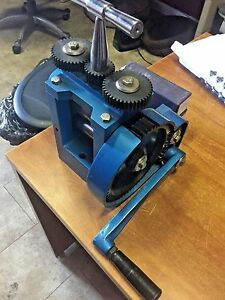 New Jewelers Combination Rolling Mill 3 Diameter And Extra Rollers Gold Smith