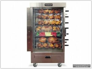 Southwood Rg7 35 chicken Gas ng lp Heavy duty Rotisserie Machine
