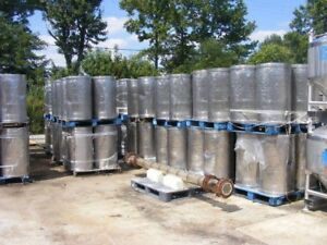 55 Gallon Stainless Steel Drum Tank Food Wine Beer Soup Sanitary