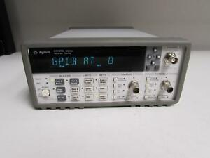 Agilent 53131a Universal Frequency Counter 10 Digit sec Opt 030