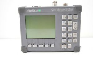 Anritsu S330a Sitemaster 25 To 3300 Mhz Cable Antenna Analyzer 4 24v