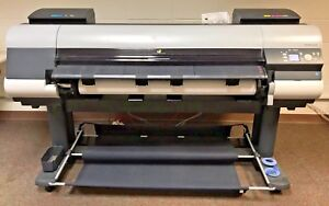 Canon Imageprograf Ipf8400s 44 Wide Format Printer Aald0730 operational