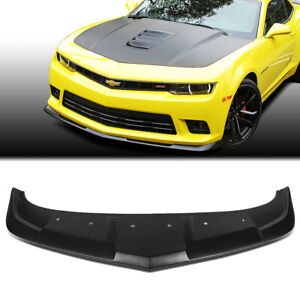 Fit 2014 2015 Chevy Camaro 1le Style Abs Front Bumper Lip Spoiler Wing Body Kit