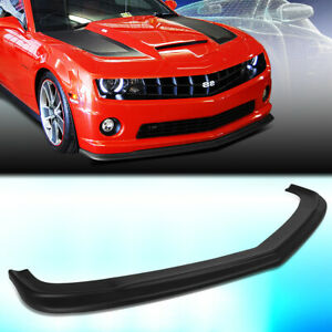 For 2010 2013 Chevy Camaro Zl1 Style Front Bumper Chin Lip Spoiler Wing Body Kit
