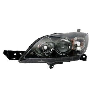 New Left Side Headlight Lens Housing For 2007 2009 Mazda 3 Ma2518115