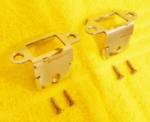 1967 1968 1969 1970 Mustang Gt Mach1 Shelby Fastback Fold Down Seat Latch Guides