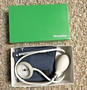 Welch Allyn Bp Cuff With Shock Resistant Sphygomomanometer