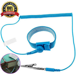 Brand Esd Anti Static Wrist Strap Discharge Band Grounding Prevent Static Shock