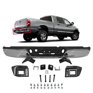 Mbi Auto Chrome Steel Rear Step Bumper Assembly 2004 2008 Dodge Ram 1500 2500
