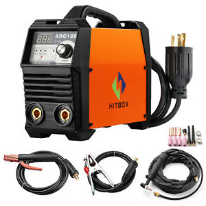 Arc 160a Welder Lift Tig 220v Digital Inverter Mma Welding Machine W Tig Torch