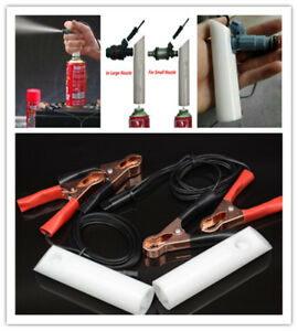 New Diy Car Fuel Injector Flush Cleaner Adapter Kit Set Vehicle Cleaners Tool