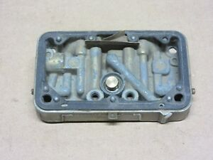 1967 1968 1969 Corvette Tri power Holley Carburetor Center Metering Plate