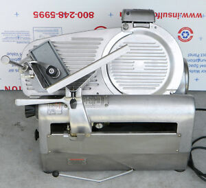 Hobart 1912 Semi automatic Commercial Deli Meat Slicer