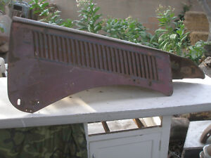 1936 Ford Passenger s Side Hood Top And Side Panel