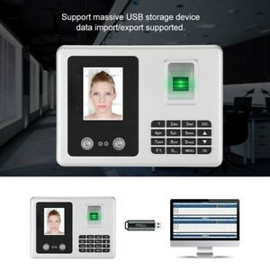2 8 Tft Lcd Biometric Wireless Face Fingerprint Recognition Attendance Machine