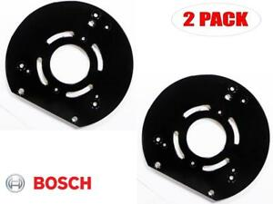Bosch 2 Pack Of Genuine Oem Replacement Router Base Plates 2610997099 2pk