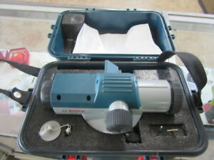 Bosch Gol26 Automatic Optical Level 26x 1 16 100ft Accuracy Case