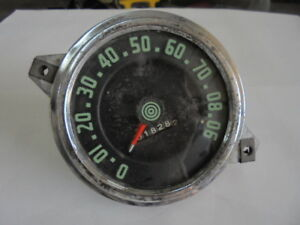 Vintage Rat Rod Speedometer Assembly Instrument Cluster Wall Art