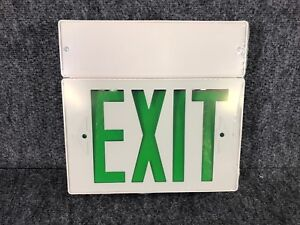 Exit Light With Battery Back Up Lite Way Commercial Grade