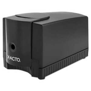 X acto Magnum Office Electric Pencil Sharpener Black gray 079946164503