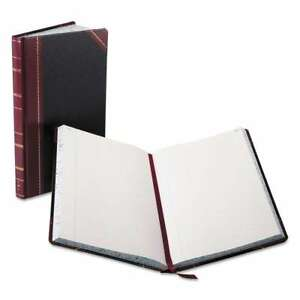 Boorum Pease Record account Book Black red Cover 300 Pages 072156094035