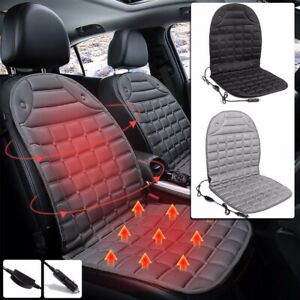 12v Electric Car Seat Heater Thickening Heated Pad Cushion Winter Warmer Cover