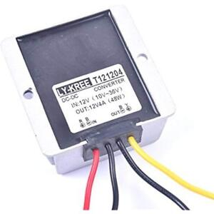 Car Dc 12v 4a Voltage Stabilizer Surge Protector Power Supply Regulator For Auto