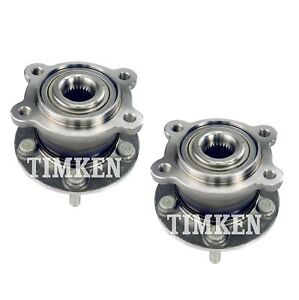 Pair Set Of 2 Rear Timken Wheel Bearing Hub Kit For Ford Escape Lincoln Mkc Awd