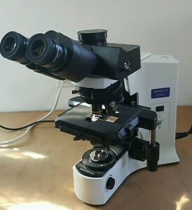 Olympus Microscope Bx41 With Planapos And Superwide