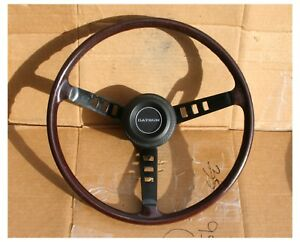 Vintage Datsun Oem Wood Stimulate Steering Wheel Roadster 240z 260z 280z 510 720