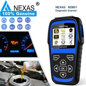For Bmw Mini Diagnostic Scanner Tool Srs Abs Engine Register Battery Nexas Nd601