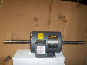 New Double Shafted Baldor Motor 1 5 Hp Fo5061 3584 1725 Rpm 145tz Frame 3 Phase