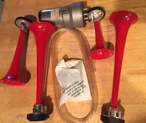 Alpex Air Horn For Jeep Toyota Or Truck Made In Italy Macarena Music