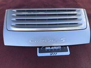 Porsche 997 Carrera S Rear Trunk Lid Engine Hood