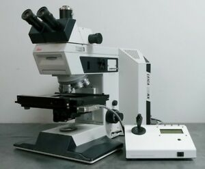 Leica Microscope Dmrx With Motorized Stage