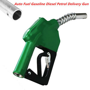 Automatic Refuelling Nozzle Diesel Oil Petrol Dispensing Fuel Transfer Stainless