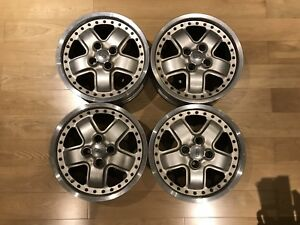 Mugen Mr5 Wheels Honda Civic Eg6 Ek9 Ef9 Crx Ea Eh Ej