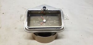 1958 Mercury Dash Clock