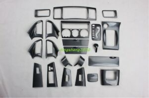 22pc Carbon Fiber Style Car Interior Kit Cover Trim For Toyota Corolla 2013 2014