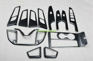 13pcs Carbon Fiber Style Car Interior Kit Cover Trim For Hyundai Tucson
